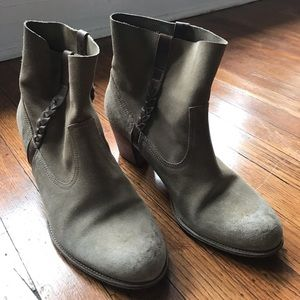 n.d.c suede riding boots